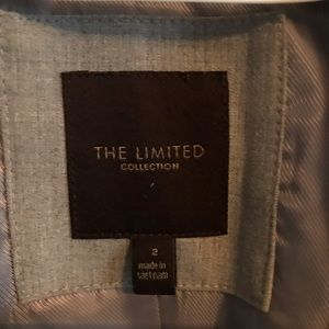The Limited Jackets & Coats - Gray Suite Jacket- Limited